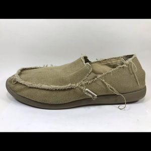 Crocs Distressed Canvas Loafers 13